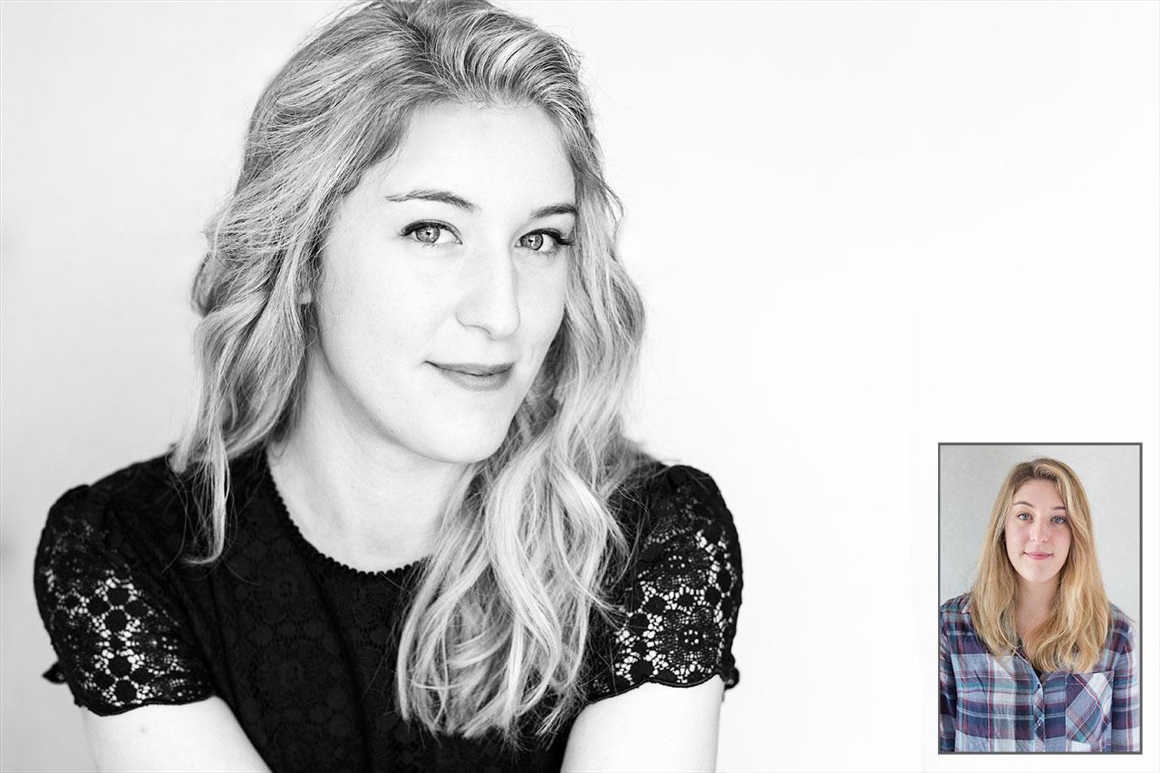 Transformation pour une séance de portraits contemporains