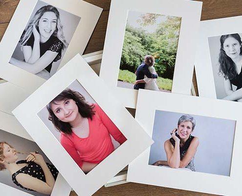 Coffret Collection et portraits imprimés