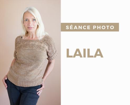 La séance de portraits de Laila