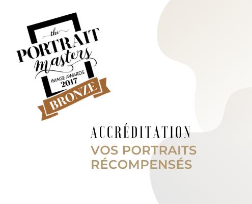 Accréditation – Portrait Masters