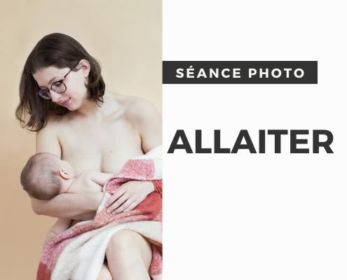 Un portrait souvenir d'allaitement