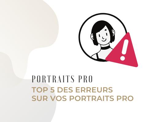 Les 5 principales erreurs des photos de profil professionnelles