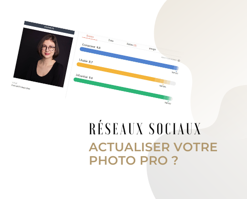 Actualiser votre photo professionnelle